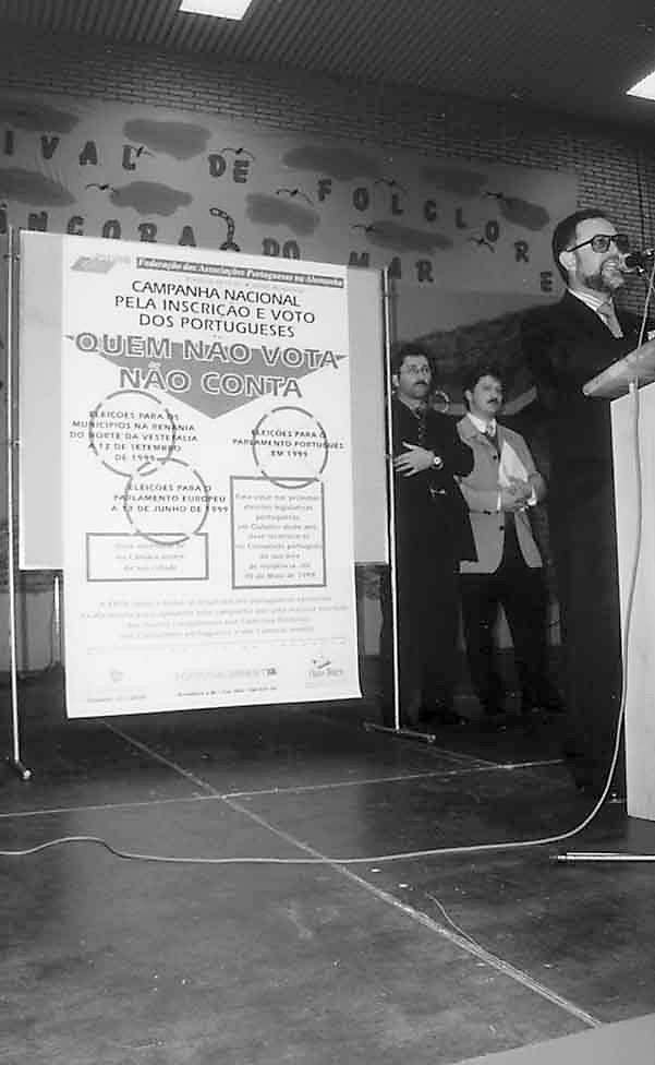 Acção da FAPA: Quem não vota não conta, 1998