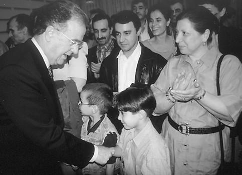 Presidente Sampaio  visita Hamburgo, 1999