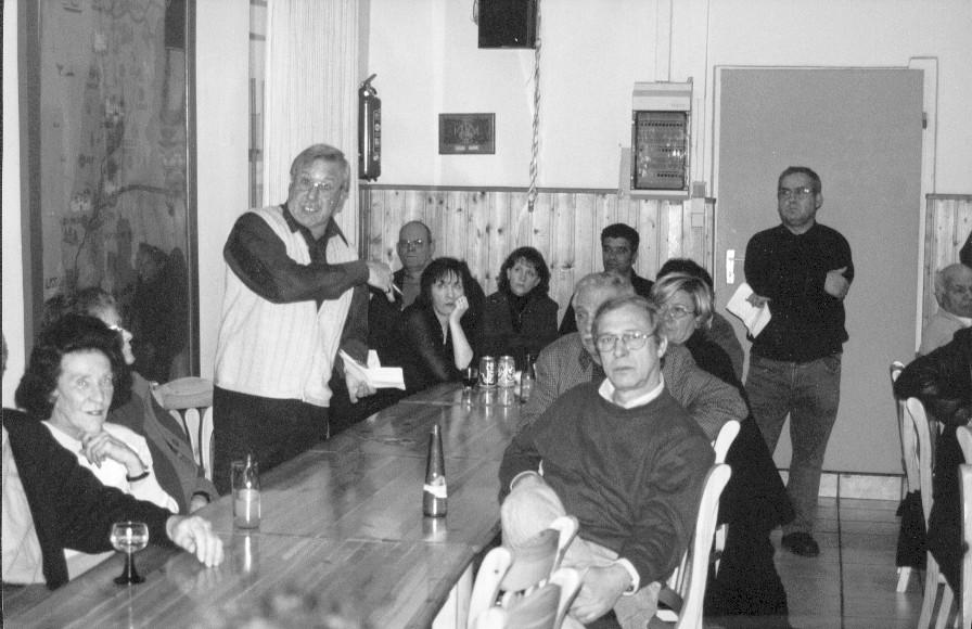 Encontro de portugueses no Centro Português de Dortmund, 1998