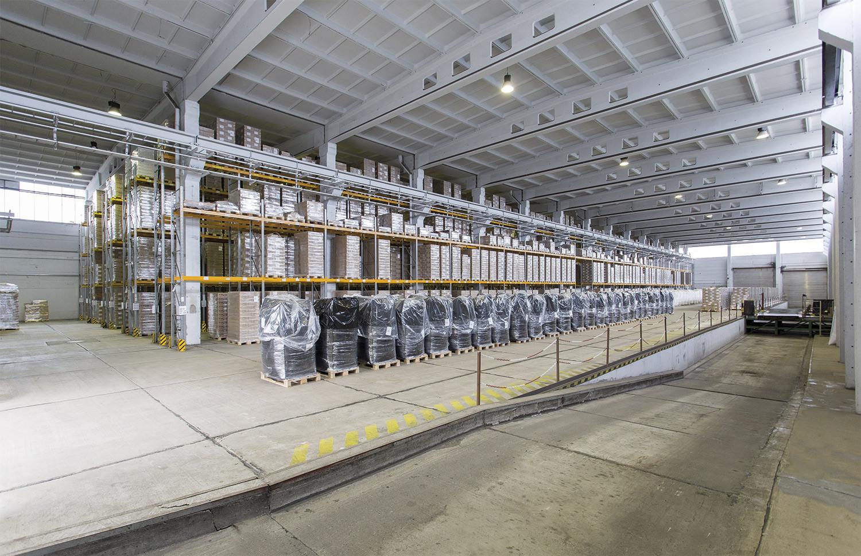 Industriepark Tangermünde Halle 3 Hochregallager