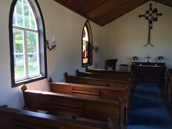 Des voix paranormales dans une ancienne église