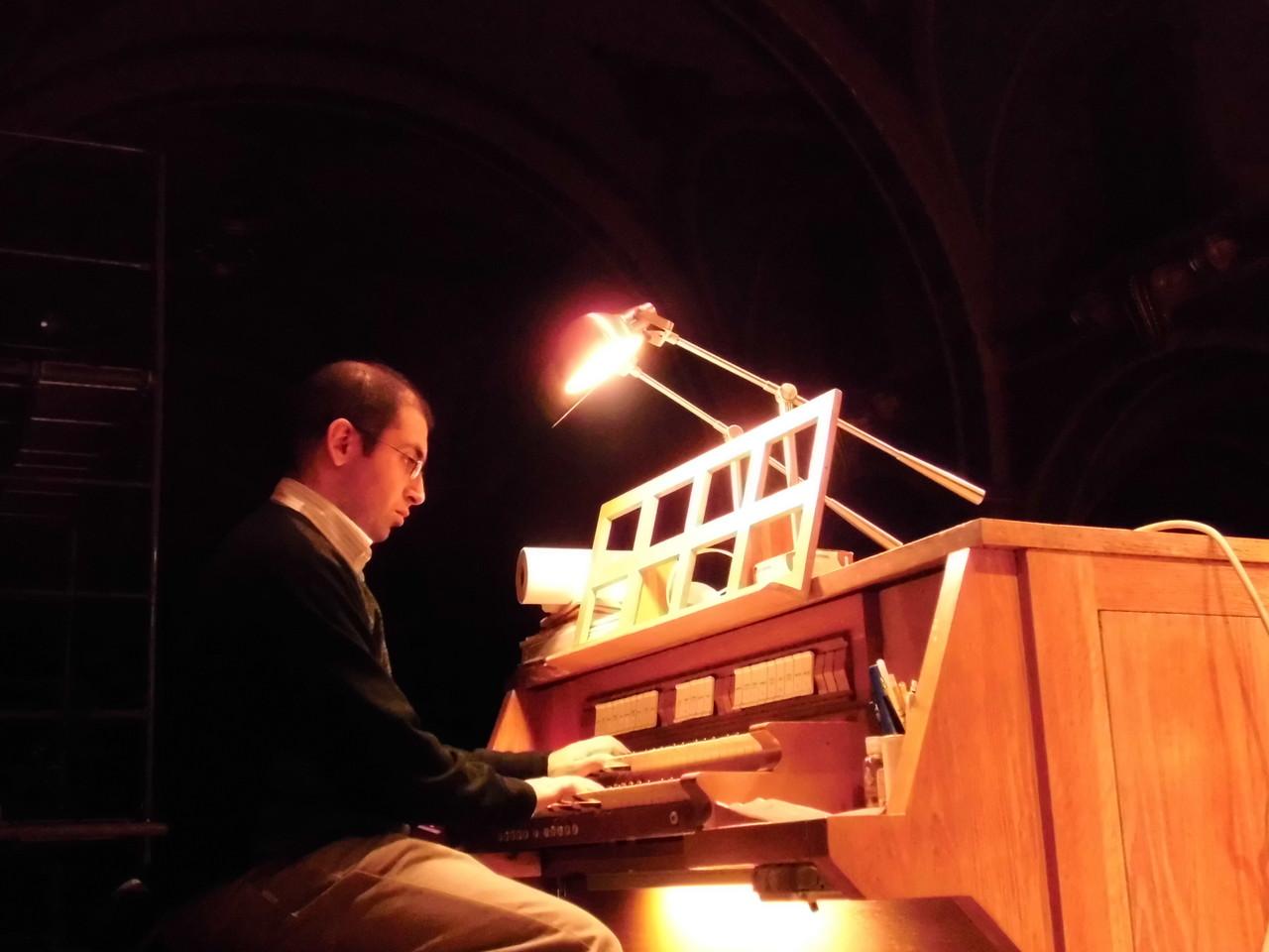 The choir organ, St Cantius, Chicago (USA)
