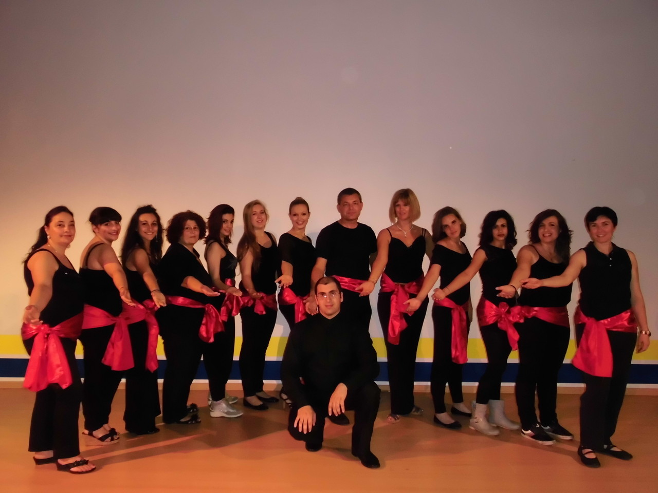 ..and with my school choir!