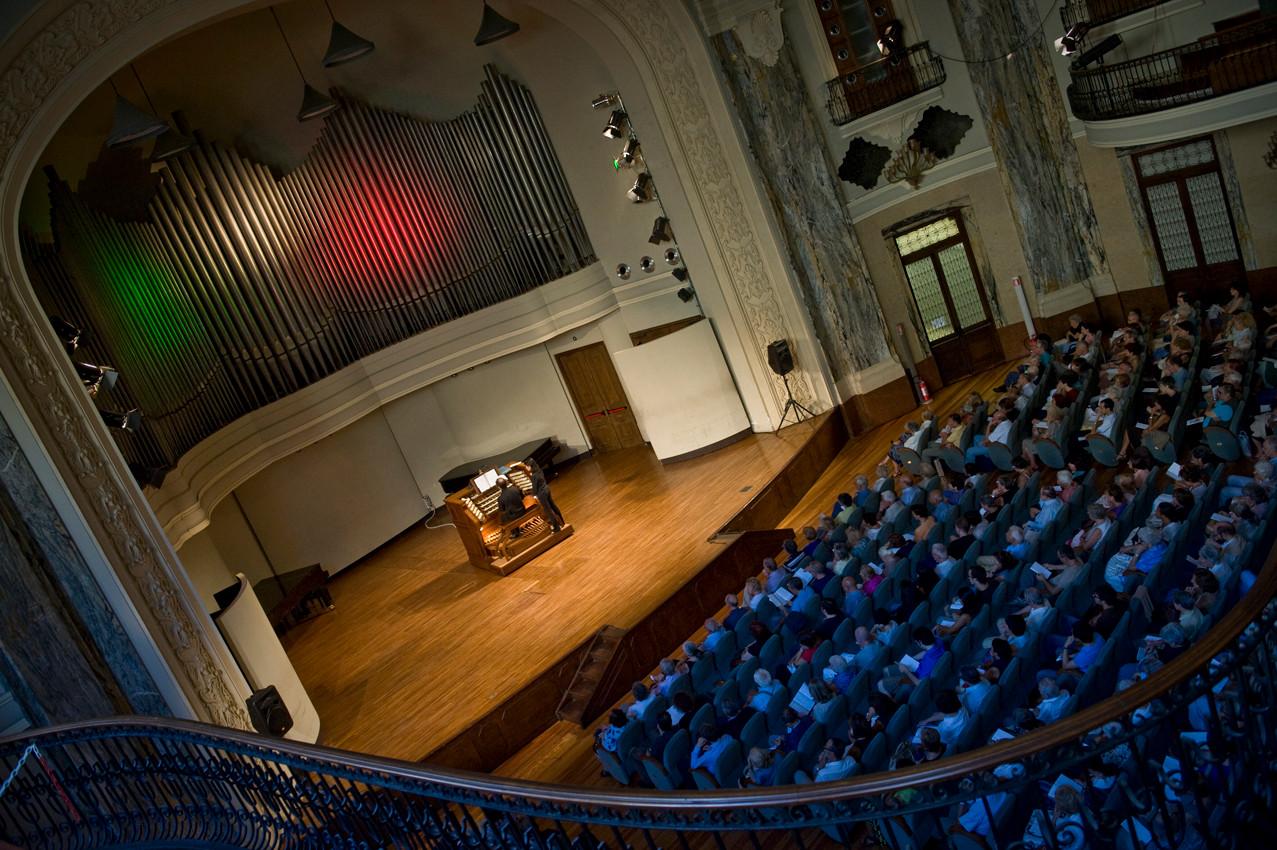 Concert Hall of the Turin Conservatory, Torino- recital forMITO international festival (IT)