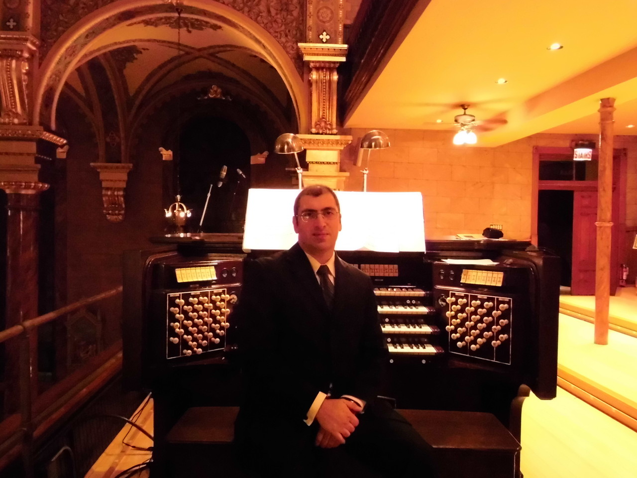 "the great ""Tina Mae"" organ, St Cantius, Chicago (USA)"