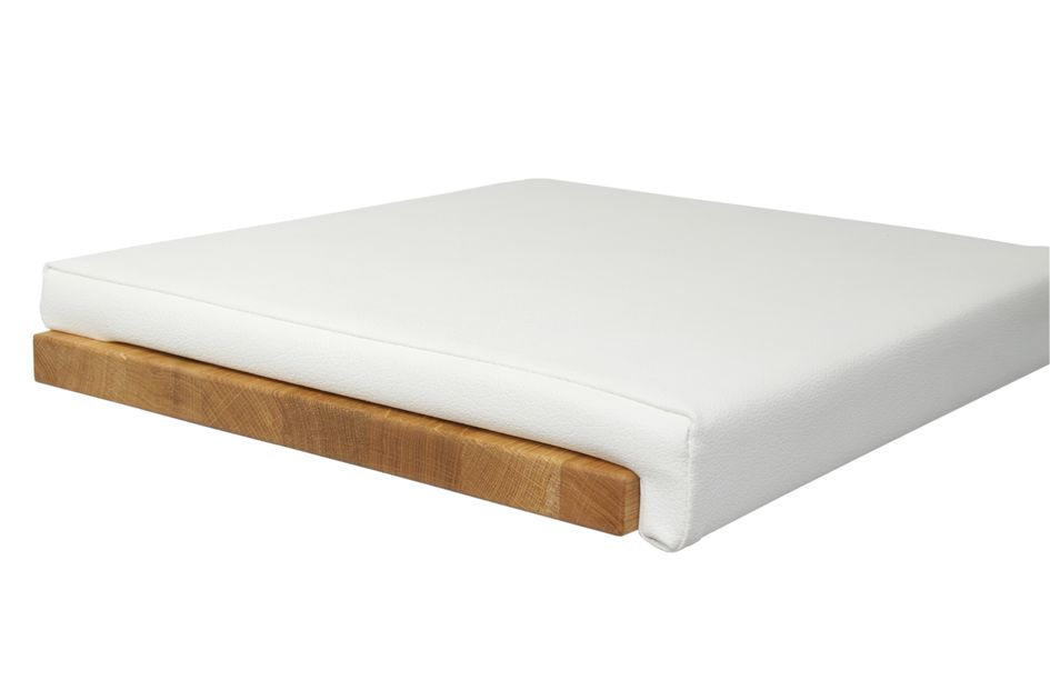 Fits to: Seat cushion Leather Look - White