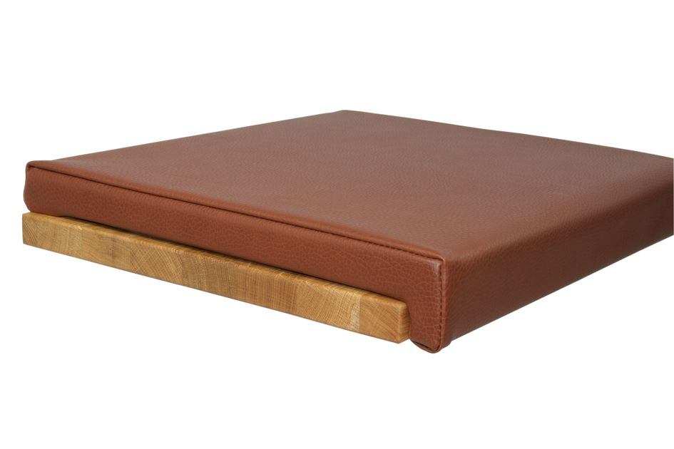 Fits to: Seat cushion Leather Look - Brown
