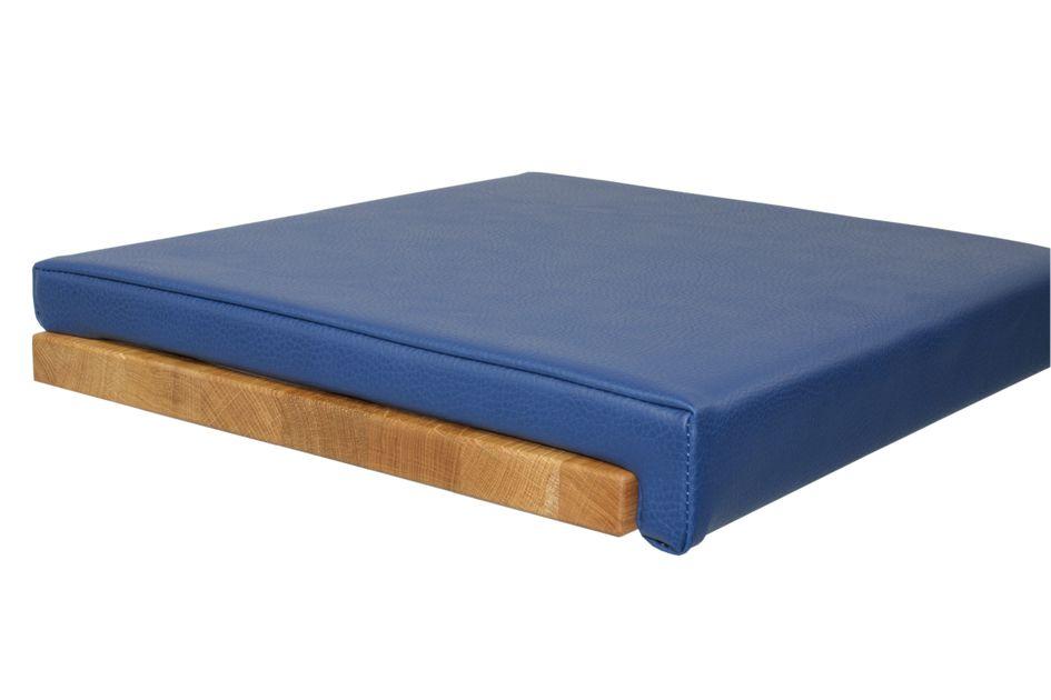 Dazu passt: Kissen Lederoptik - Blau