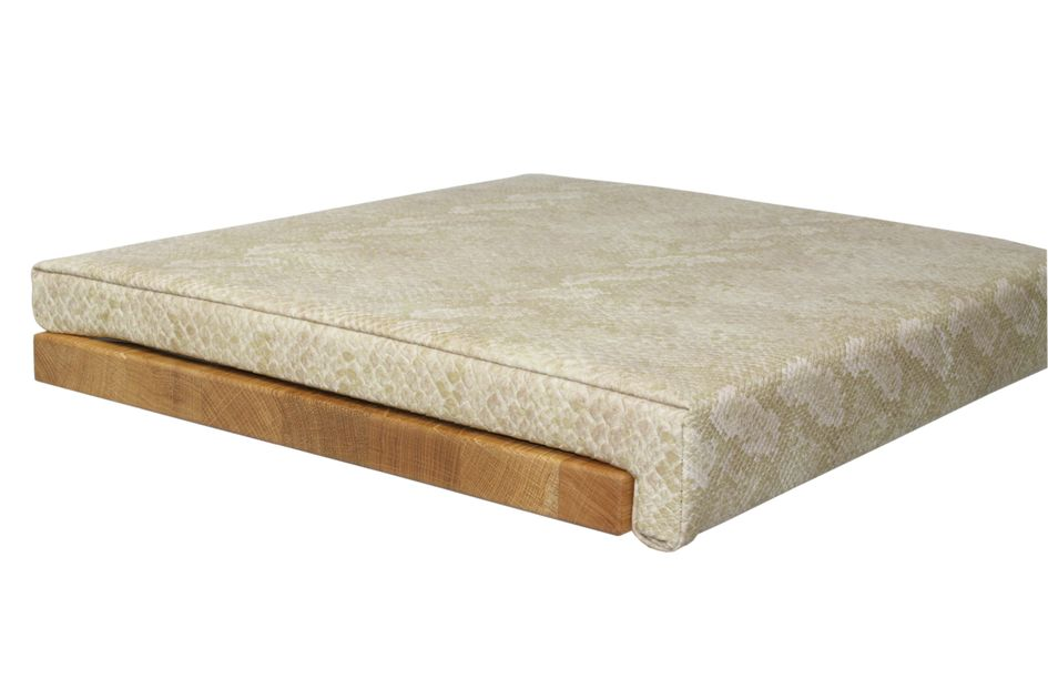 Fits to: Seat cushion Leather Look - Snake Beige