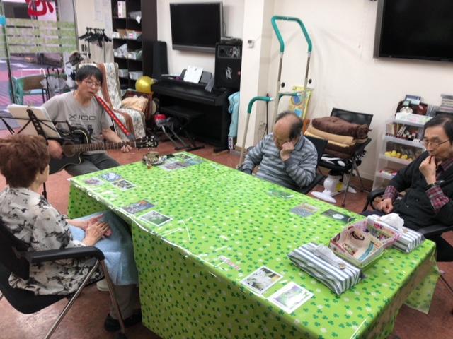 いつもの光景。米沢出身の方が入院中で心配です。