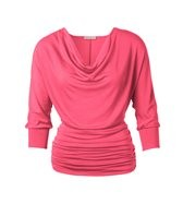 Shocking Pink Batwing Cowl € ca. 54,00 Kettlewell Colours online