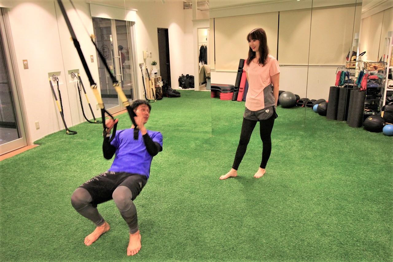 筋肉に刺激をいれるコツをお教えします!