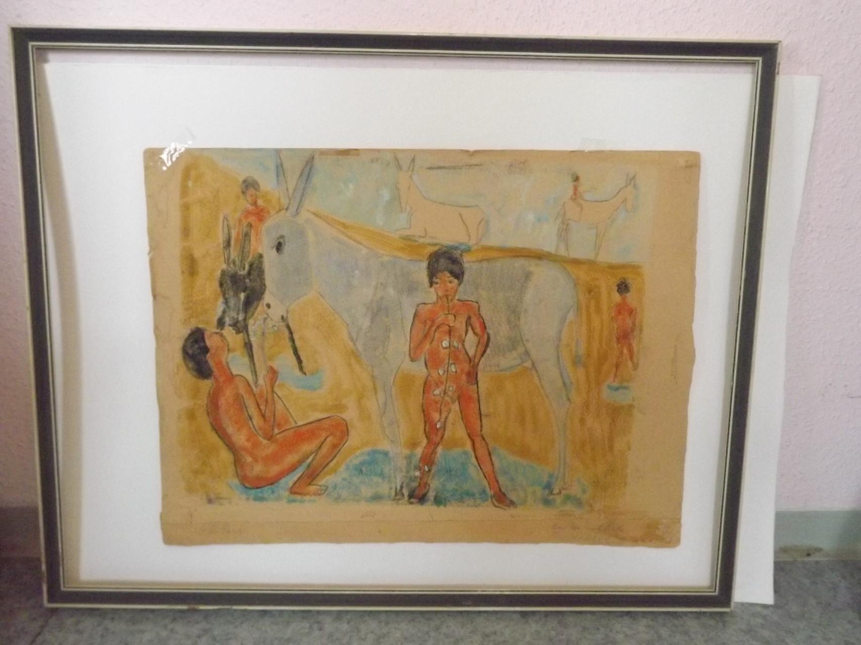 Von CHARLOTTE PAULY, die im Nahen Osten und bei den Zigeunern Spaniens lebte und malte ...
