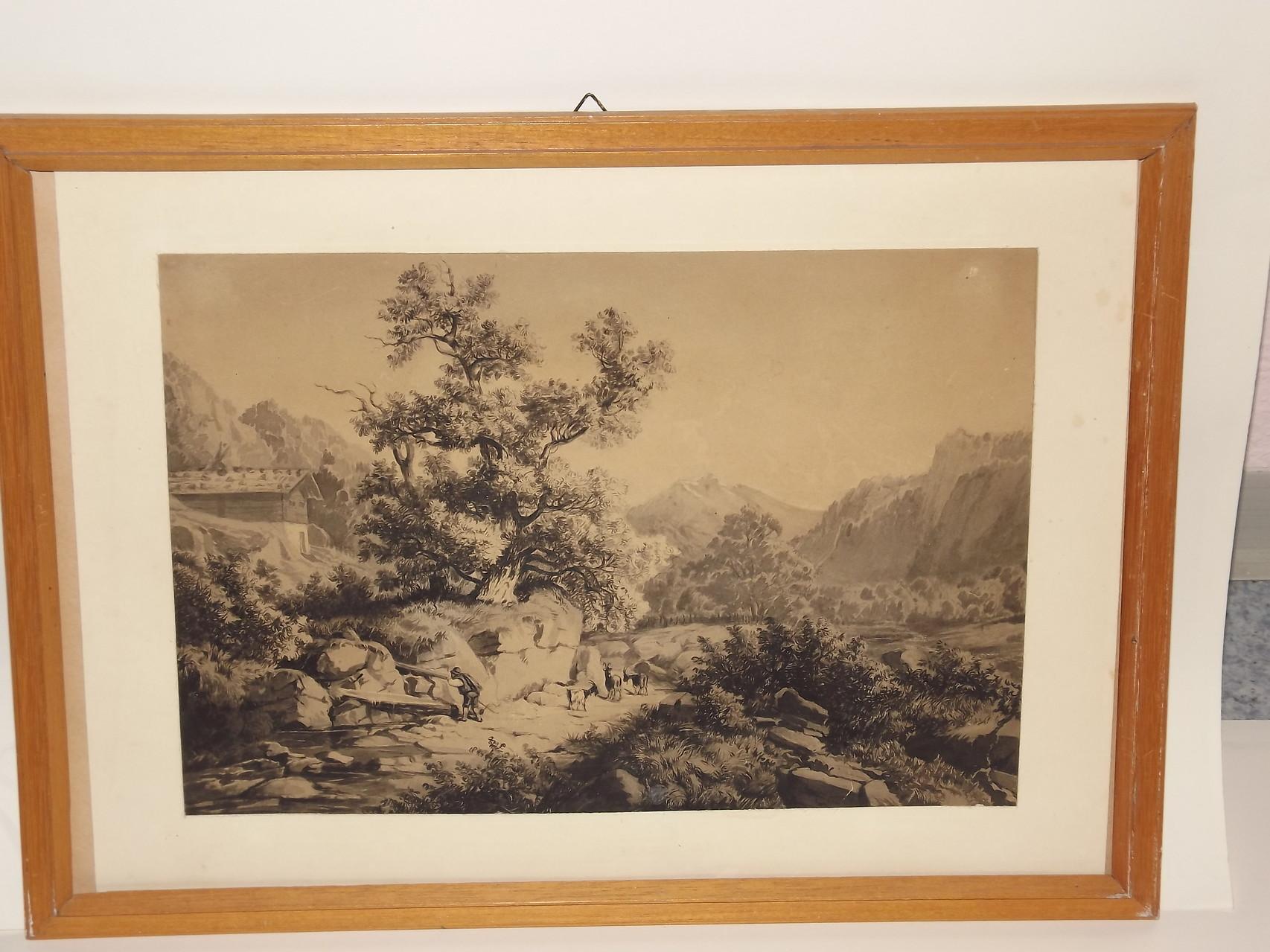 Ein Stahlstich ca. 1880 ...