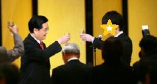 胡錦濤・元主席が来日した時、夕食会でSP側テーブルで通訳を担当。普段会えないような人に会えるのが通訳の仕事の魅力!