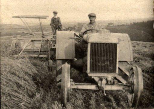 Moderne Feldbewirtschaftung, Rittergut Robschütz 1926, Nachlass: Karl Bosse