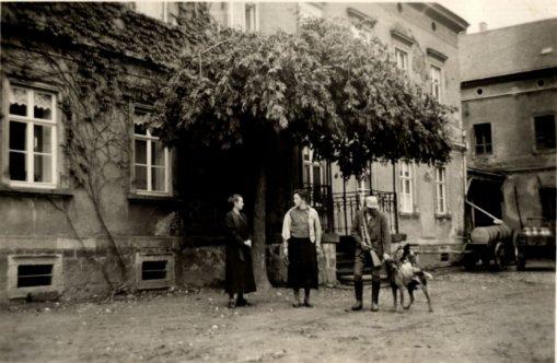 Gutshaus Robschütz, 1935, Foto: Fotoalbum Karl Bosse
