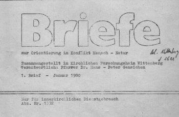 Schenkung für Archiv - Publikationen aus den 1980er Jahren