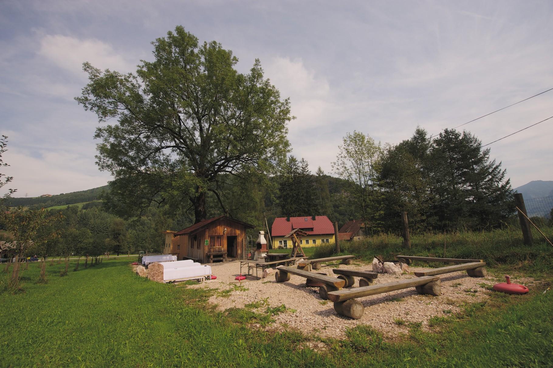 Flößerdorf Grillplatz 3