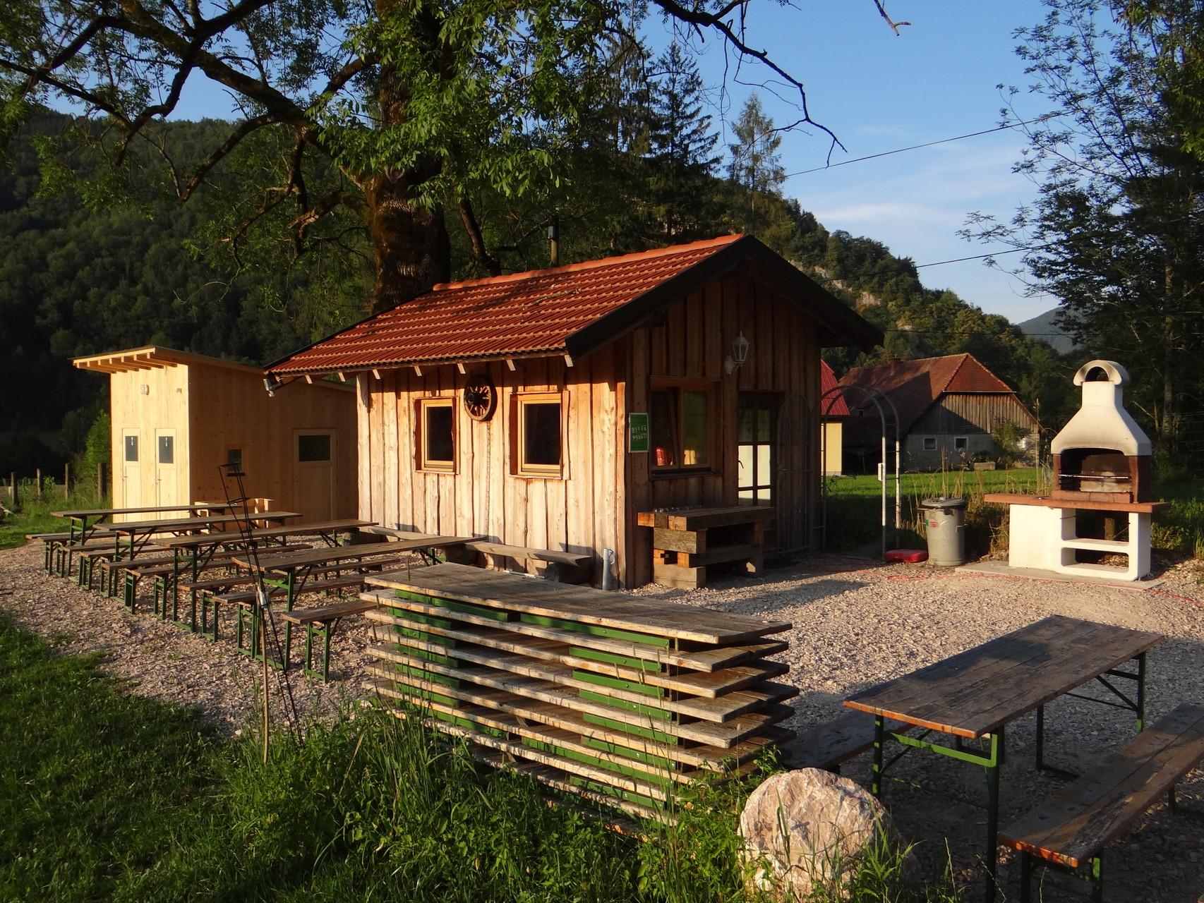 Flößerdorf Grillhütte 2