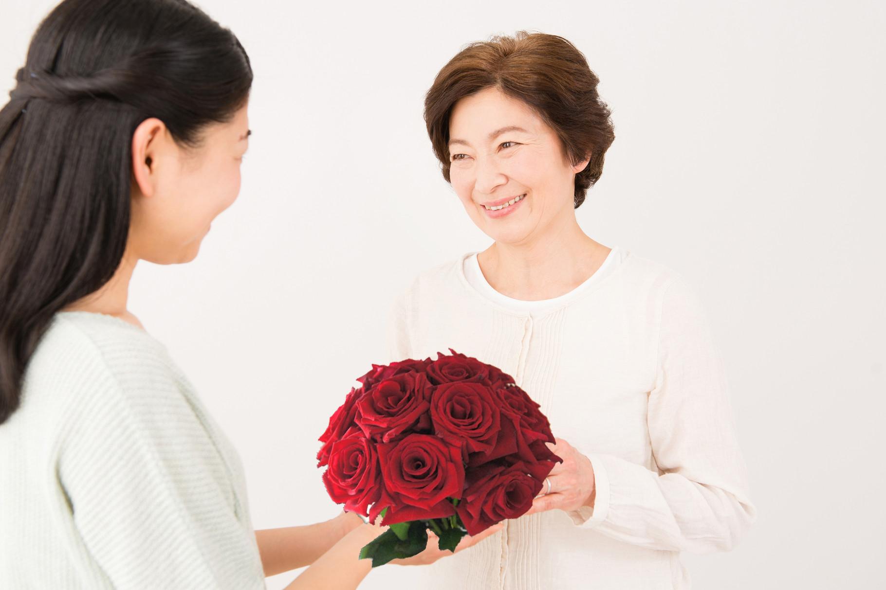 母の日に感謝をこめて…。