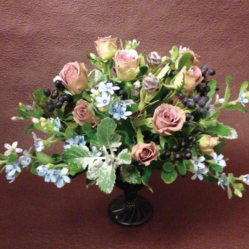 青の花12000円オーダーメイドフラワー,セラピー付