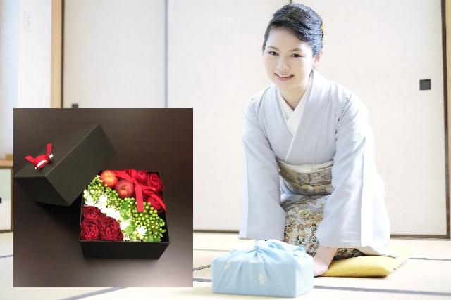 お中元やお歳暮にも花ギフトを贈られる人が増えてきました。