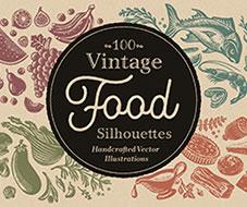 Illubelle - Julia Kerschbaumer - Vintage Food Silhouettes