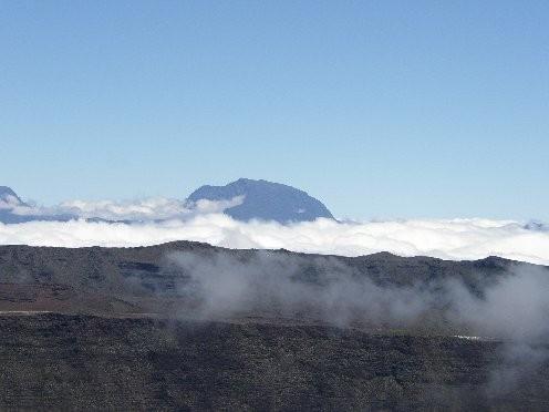 Le plus haut sommet de l'ocean Indien: le Piton des Neiges