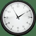 Symbol einer analogen Uhr