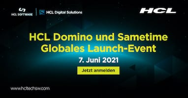 HCL Domino 12 und Sametime 11.6 Globales Launch-Event