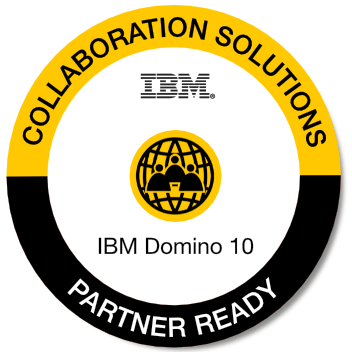 Badge: Domino 10 Partner Ready