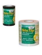 Toile isolante pour réparation de silo - Largeur : 100 mm, longueur 25 m - Noir ou blanc