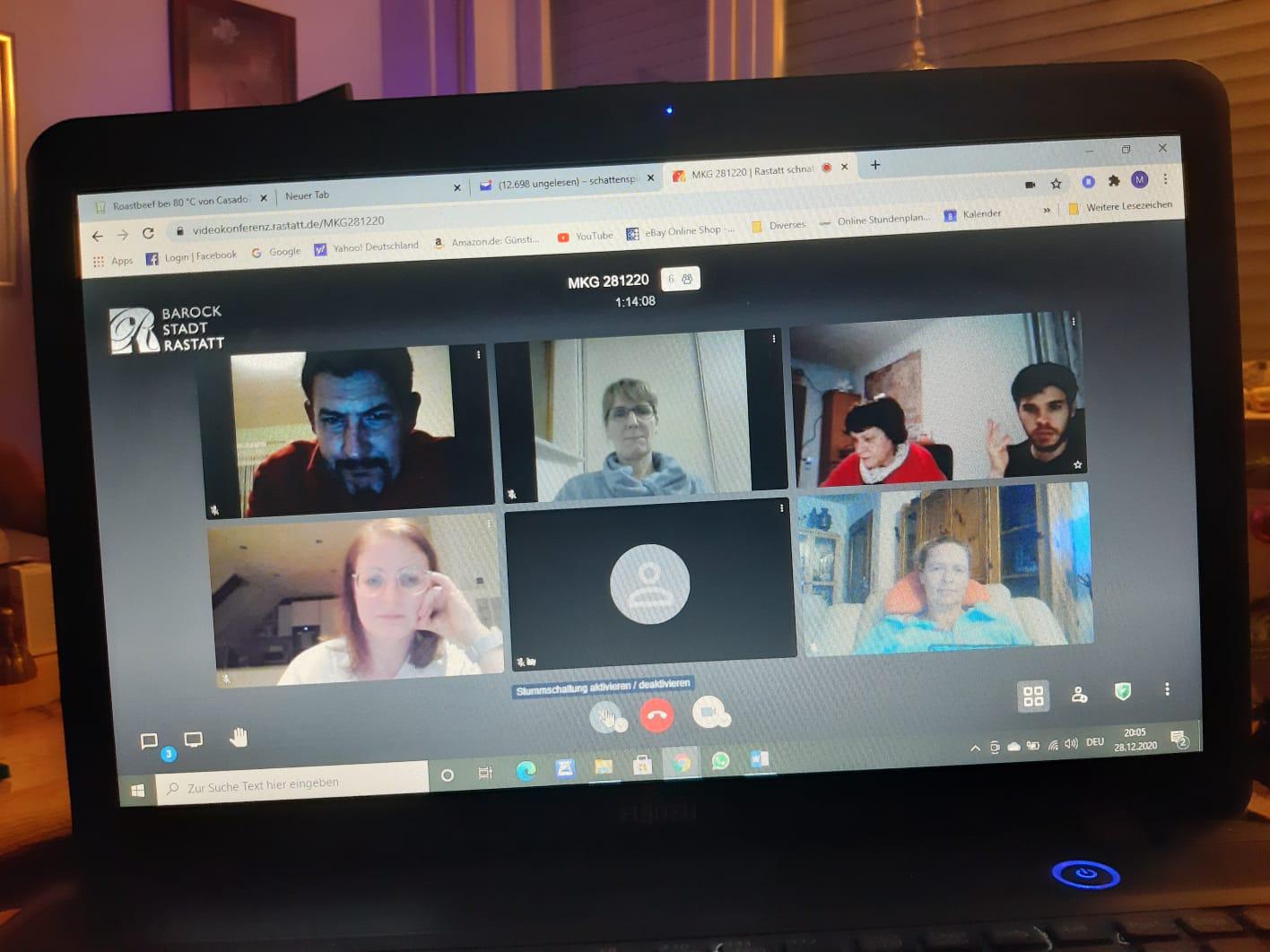 Vorstandssitzung digital!