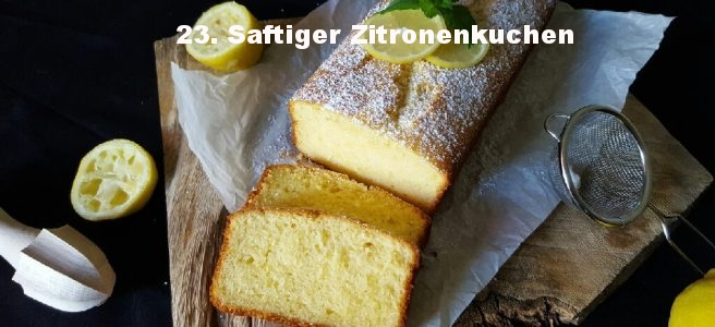 Saftiger Zitronenkuchen von Schlemmerkatze