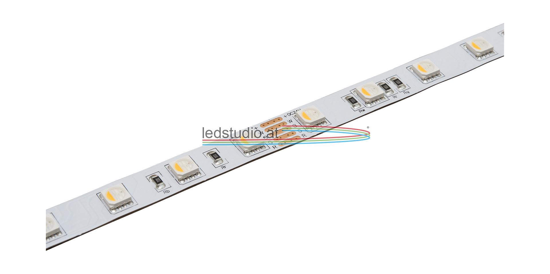 RGBW LED Band max. 18W/m, alle 10cm kürzbar