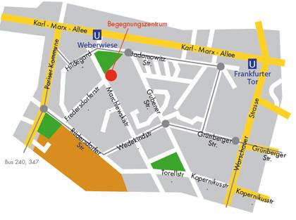 Anfahrtskizze zum INTEGRAL (copyright: http://www.integral-berlin.de/standorte/bgz.shtml)