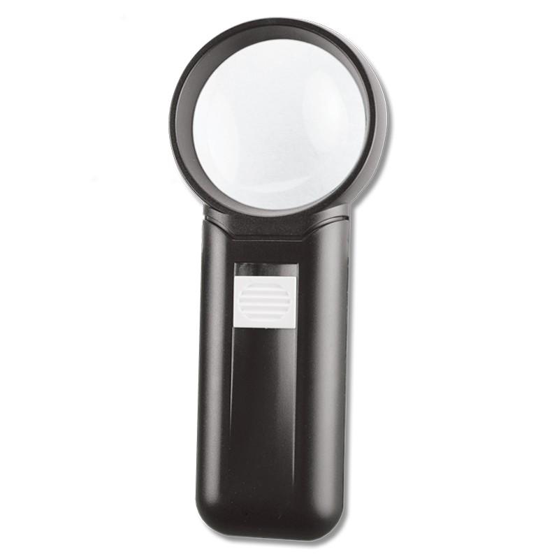 Lupa circular con iluminación y mango 3351CC