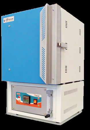 TE-M20AC Muflas de atmósfera controlada para temperaturas de 1,100 °C, 10 Litros. Terlab