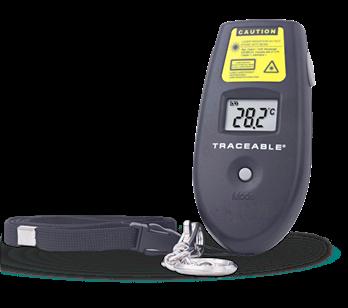 Termómetros infrarrojo portátil con certificado trazable a NIST 4481