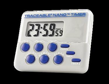 Timer contador de dos canales con certificado trazable a NIST 5132