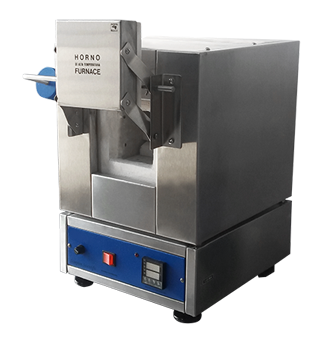 M51120 Mufla digital de laboratorio para temperaturas hasta 1,100ºC, 2 litros.