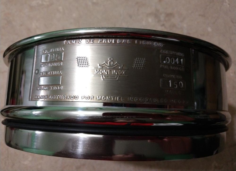 tamices para granulometria en mm tamiz de acero inoxidable