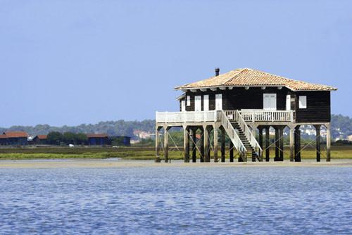 Cabane tchanquée à l'Île aux oiseaux