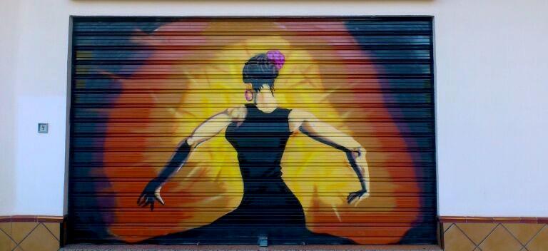graffiti flamenca