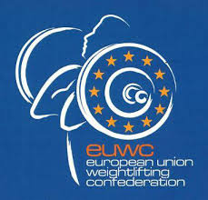 Plakat European Union Weightlifting Confederation