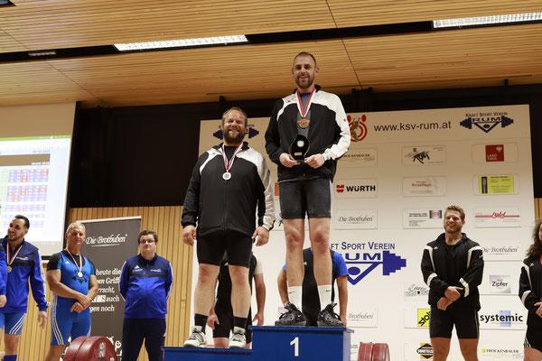 Siegerehrung Kategorie -102kg
