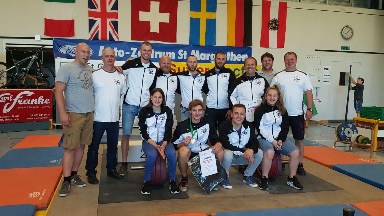 Tirol Auswahl & Betreuerteam Internationaler Alpencup 2017