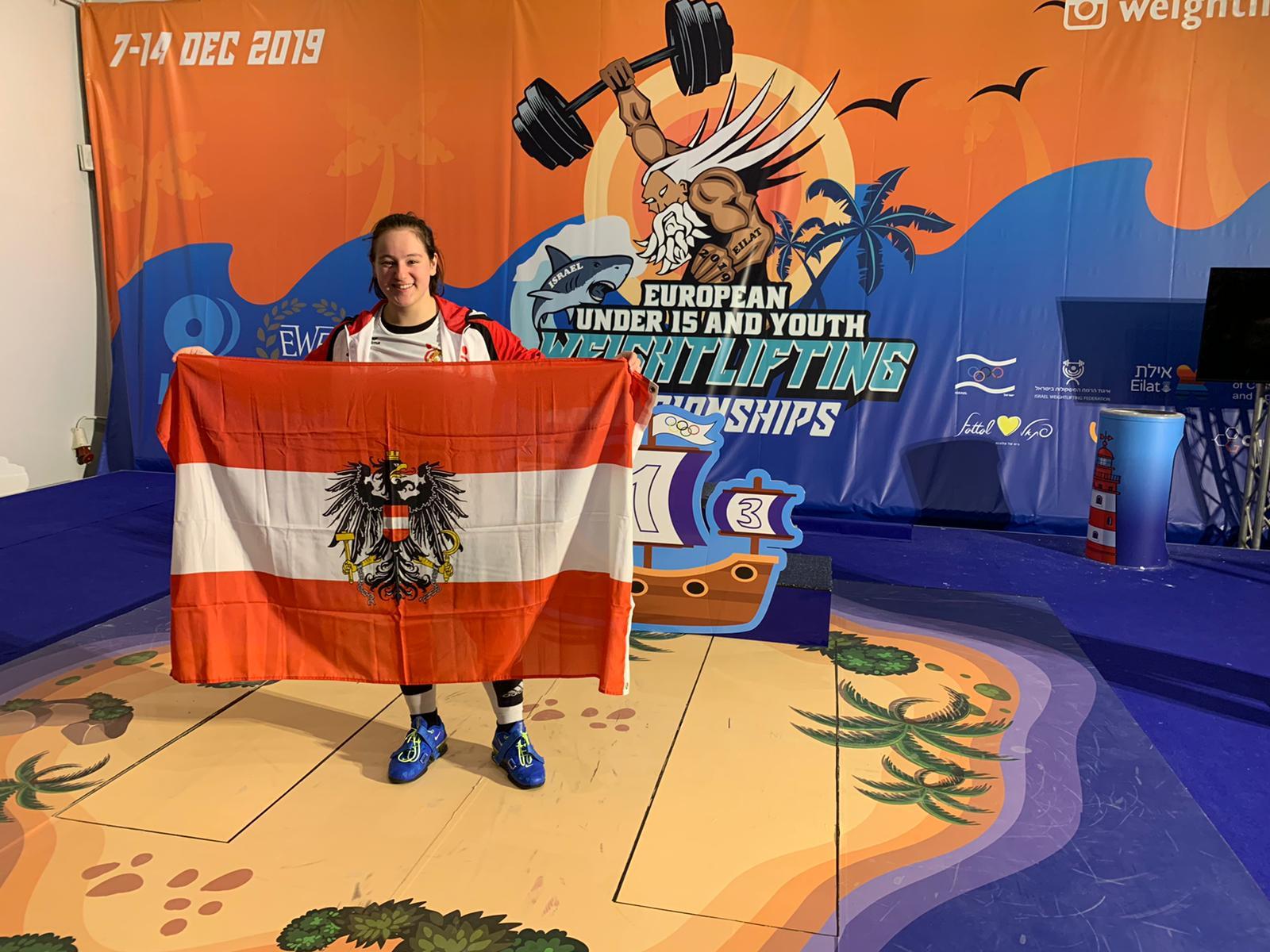 Steiner Victoria bei der U17-EM in Israel
