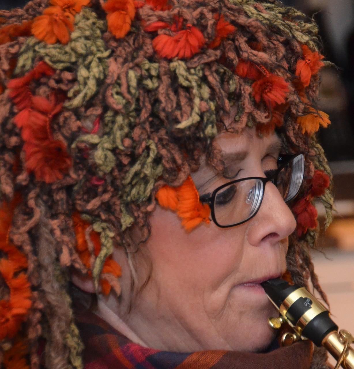 Franziska Schwarzenbach, Sopransaxofon